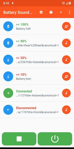 Battery Sound Notification screenshot 1