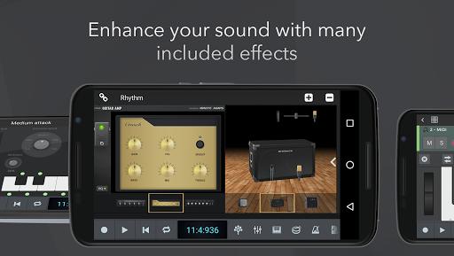 n-Track Studio DAW Beat Maker, Record Audio, Drums screenshot 3