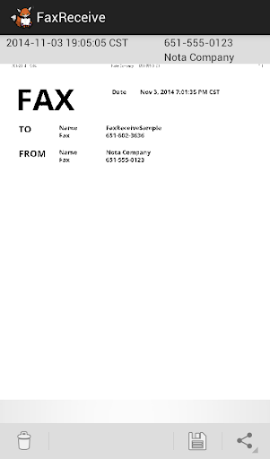 FaxReceive - receive fax phone screenshot 3