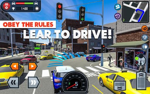 🚓🚦Car Driving School Simulator 🚕🚸 screenshot 8