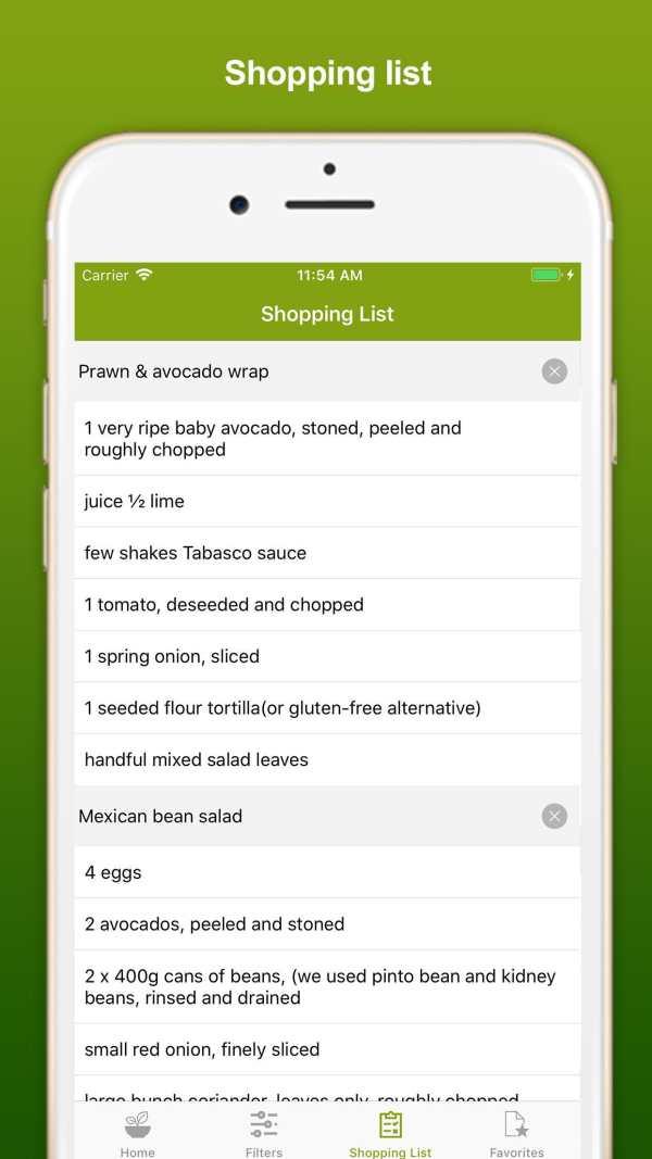 Healthy Eating Recipes screenshot 3