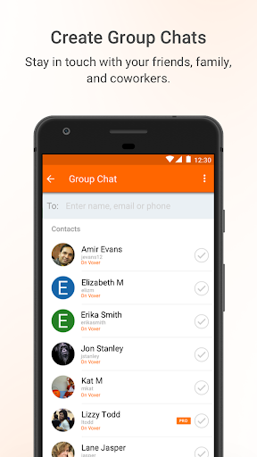 Voxer Walkie Talkie Messenger screenshot 5