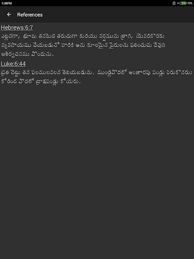TeluguBible 16 تصوير الشاشة