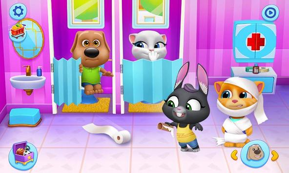 My Talking Tom Friends screenshot 2