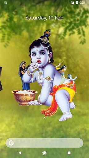 4D Little Krishna App & Live Wallpaper screenshot 6