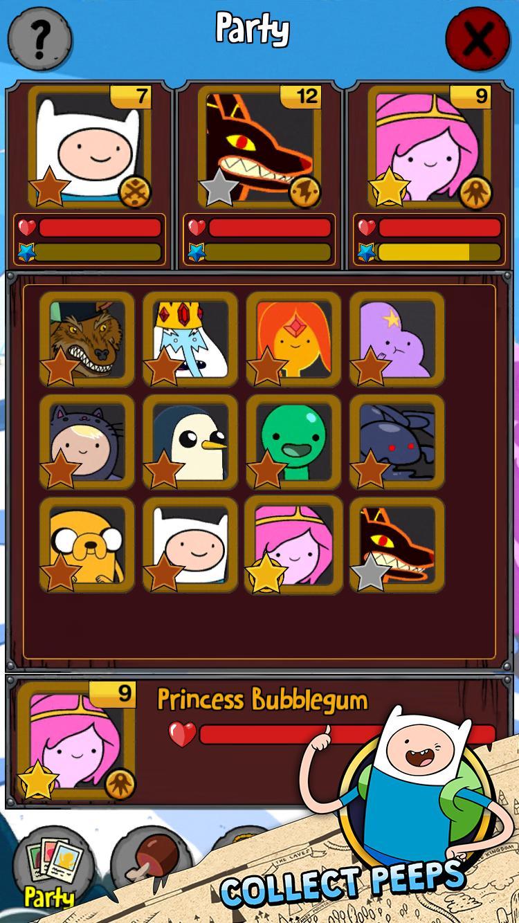 Adventure Time Puzzle Quest 13 تصوير الشاشة