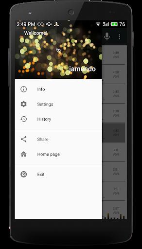 حمل موسيقى mp3 JAMENDO 7 تصوير الشاشة