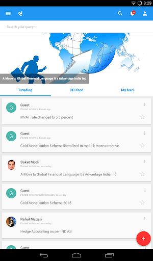 CAclubindia- Tax and Query App screenshot 9