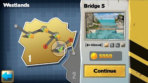 Bridge Constructor FREE 4 تصوير الشاشة