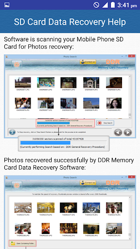 SD Card Data Recovery Help screenshot 7