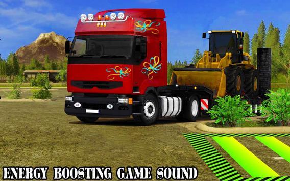 Speed Parking Truck Simulator :Truck Driving 2018 screenshot 4