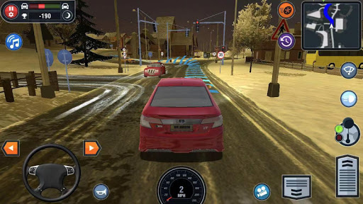 🚓🚦Car Driving School Simulator 🚕🚸 screenshot 1