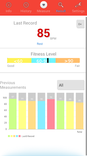 Heart Rate Monitor screenshot 4