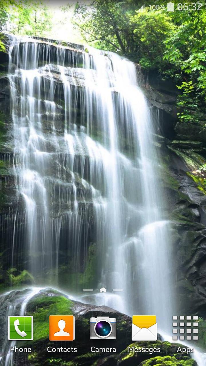 Waterfall Live Wallpaper screenshot 2