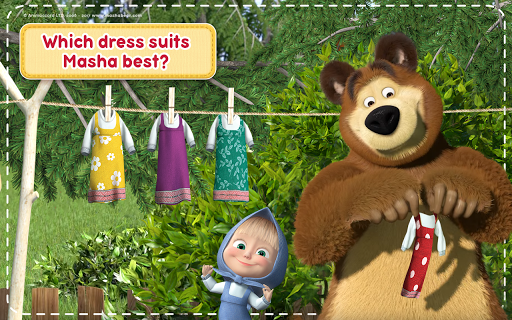 Masha and the Bear: House Cleaning Games for Girls screenshot 15