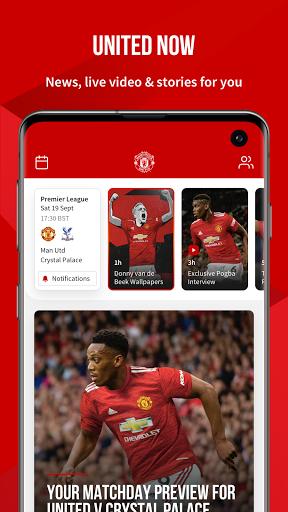 Manchester United Official App 1 تصوير الشاشة