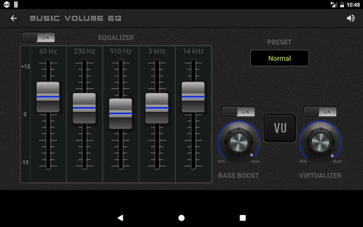 Music Volume EQ — Equalizer Bass Booster Amplifier 10 تصوير الشاشة