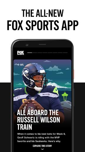 FOX Sports: Latest Stories, Scores & Events 1 تصوير الشاشة