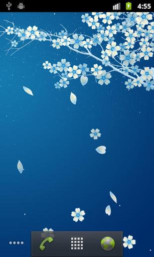 Sakura Live Wallpaper screenshot 4