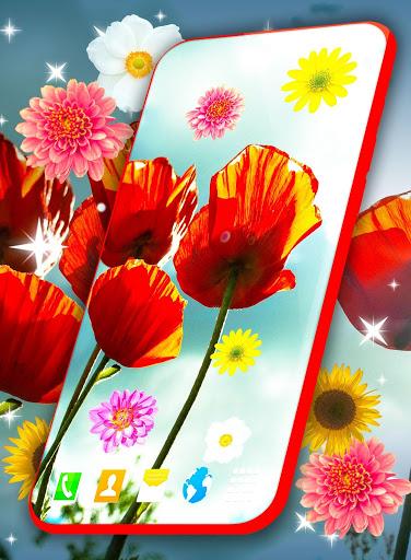 HD Summer Live Wallpaper 🌻 Flowers 4K Wallpapers screenshot 2