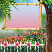 Garden Photo Frame on 9Apps
