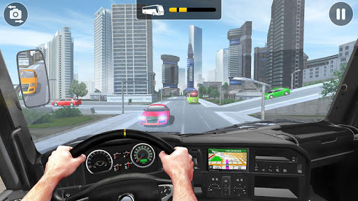 City Coach Bus Simulator 2021 - PvP Free Bus Games screenshot 4