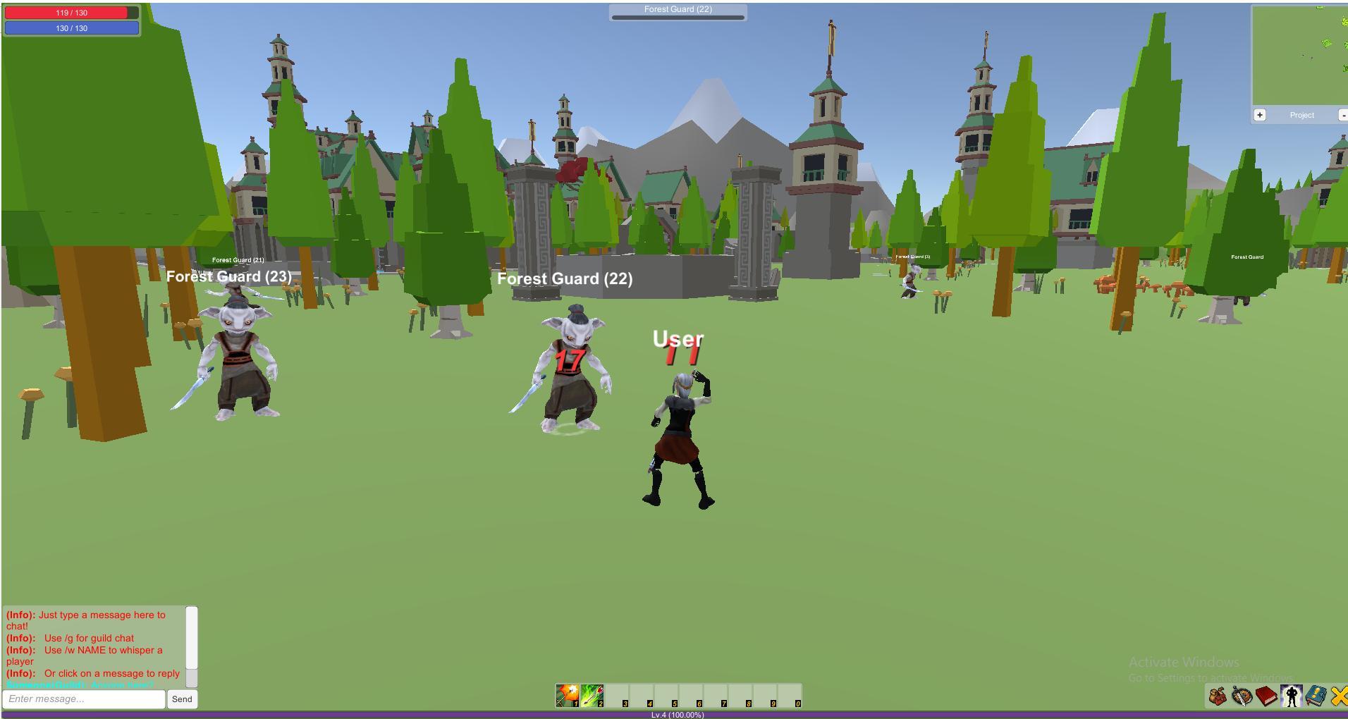 4 Kingdoms MMORPG Online screenshot 3