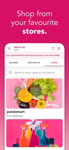 foodpanda - Local Food & Grocery Delivery 3 تصوير الشاشة
