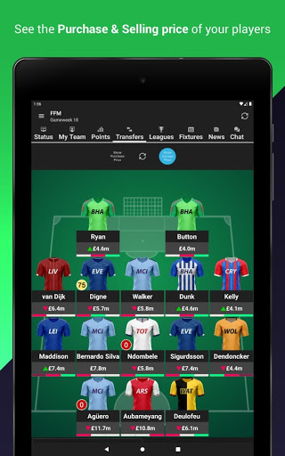 Fantasy Football Manager (FPL) 12 تصوير الشاشة