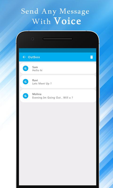 Write SMS by Voice screenshot 4