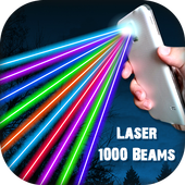 Laser 1000 Beams Funny Prank icon