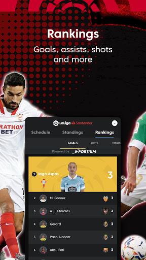 La Liga Official App - Live Soccer Scores & Stats स्क्रीनशॉट 7