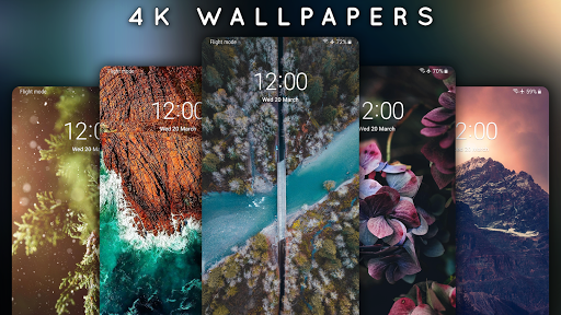 4K Wallpapers - Auto Wallpaper Changer screenshot 9