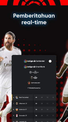 La Liga - Sepak bola dan Hasil Pertandingan screenshot 15