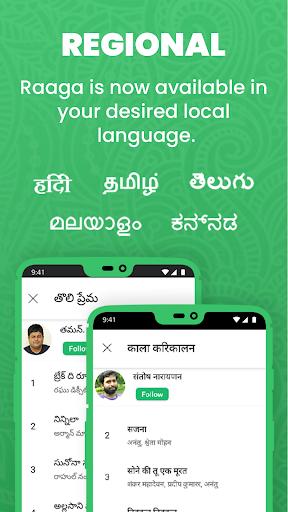 Raaga Hindi Tamil Telugu songs videos and podcasts screenshot 13