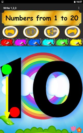 Write 123 - Learn Kids Numbers screenshot 16