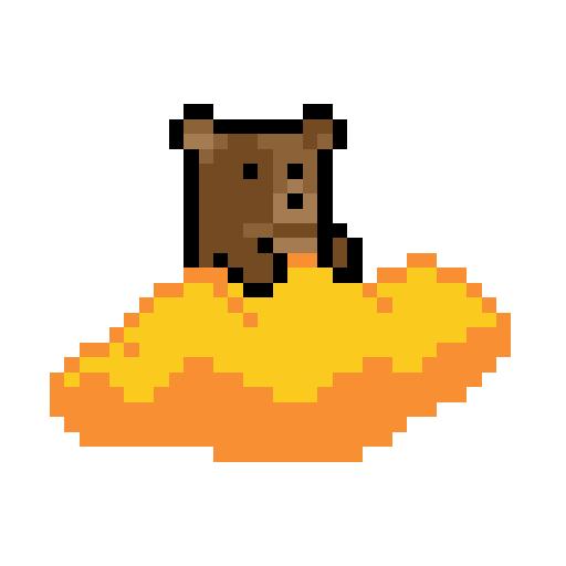 Pixel Bear Adventure 2 أيقونة