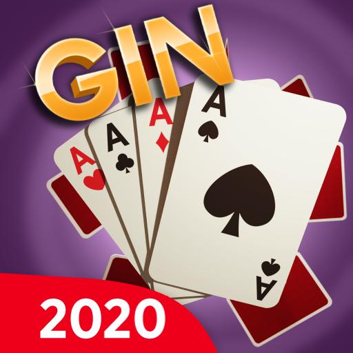 Gin Rummy - Offline Free Card Games أيقونة