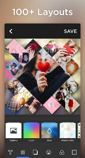 Photo Collage & Grid, Pic Collage Maker-Quick Grid 2 تصوير الشاشة