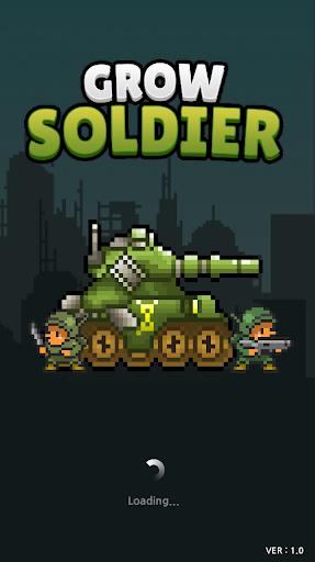Grow Soldier - Idle Merge game 1 تصوير الشاشة