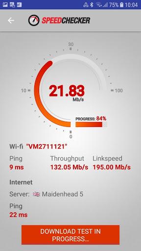 Internet and Wi-Fi Speed Test by SpeedChecker screenshot 1