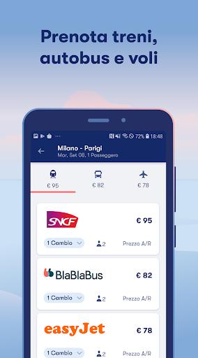 Omio: Compra Biglietti Treni, Bus e Voli in Europa screenshot 3