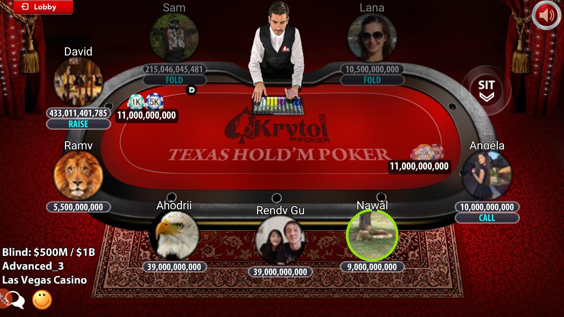Krytoi Texas Holdem Poker. screenshot 16