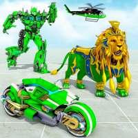 Lion Robot Hero Crime City War on 9Apps