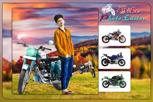 Bike Photo Editor: Bike Photo Frames screenshot 1