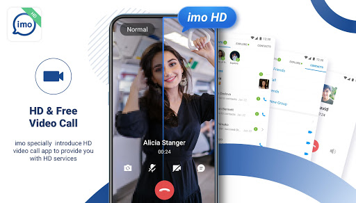 imo HD-Free Video Calls and Chats screenshot 1