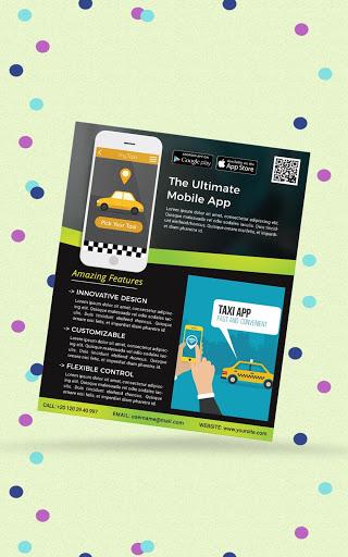 Flyers, Poster Maker, Graphic Design, Banner Maker 16 تصوير الشاشة