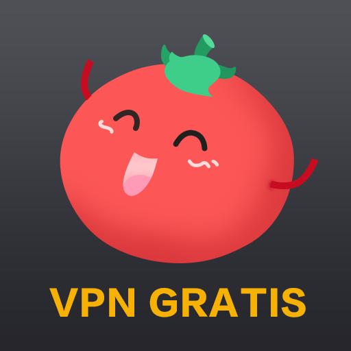 VPN Tomato gratis | Veloz proxy VPN hotspot gratis icon