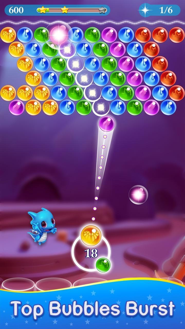 Monster Pet Pop Bubble Shooter 1 تصوير الشاشة