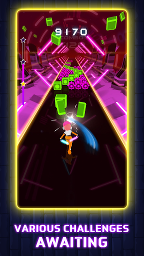 Beat Blader 3D: Dash and Slash! 6 تصوير الشاشة